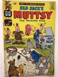 Sad Sack's Muttsy#105, VF, this K9's no vegan!!