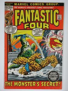FANTASTIC FOUR 125 VG+ Aug. 1972 COMICS BOOK