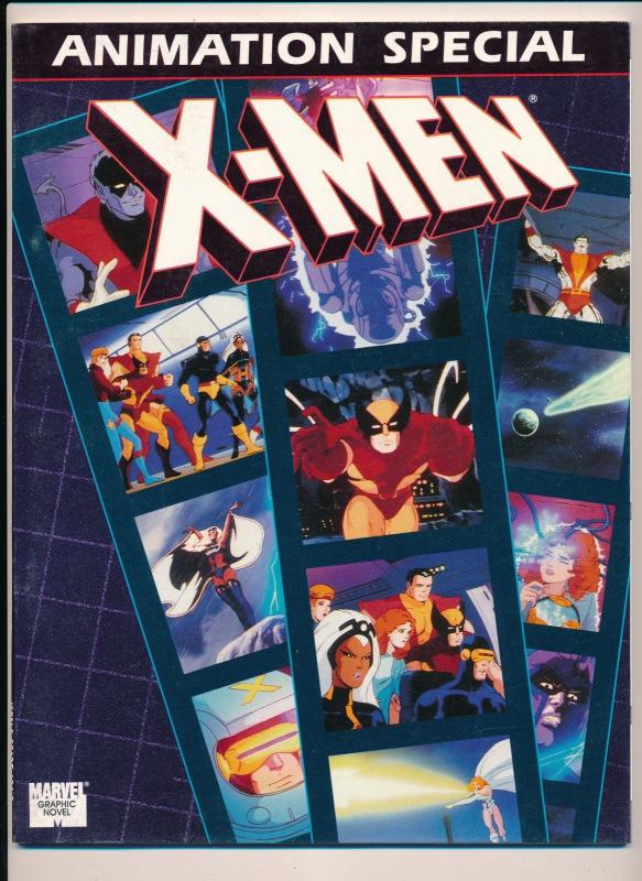 Marvel GN X-MEN Animation Special Graphic Novel ~ VF (HX946)
