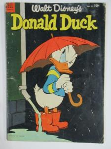 DONALD DUCK #35 (Dell, 6/1954) GOOD (G)  Walt Disney, Daisy, Barks cover