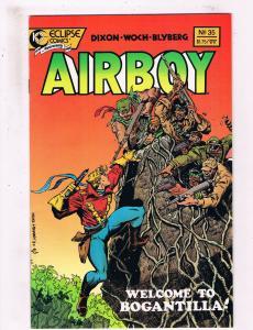 Airboy #35 VF Eclipse Comics Comic Book Dixon 1988 DE25