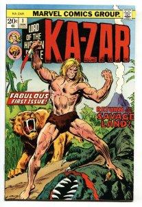 KA-ZAR #1-1974-MARVEL-1st issue-comic book