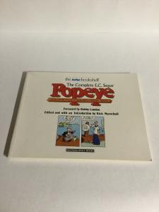 The Complete E.C. Segar Popeye Volume 5 Dailies 1928-1929 Nemo Oversized B17