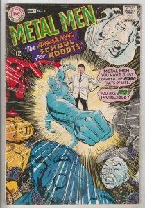 Metal Men #31 (May-68) GD Affordable-Grade Metal Men (Led, Tina, Tin, Gold, M...