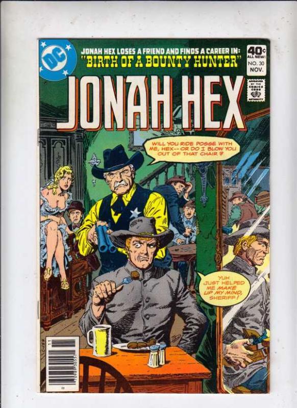 Jonah Hex #30 (Nov-79) NM- High-Grade Jonah Hex