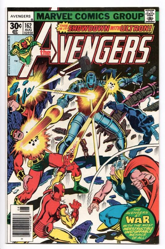 Avengers #162 - 1st App of Jocasta (Marvel, 1977) VF/NM