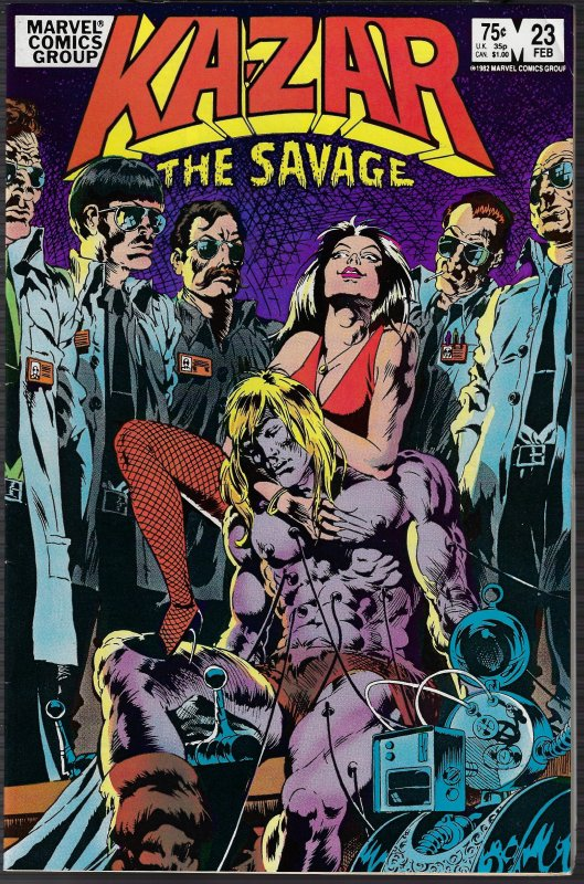 Ka-Zar the Savage #23 (Marvel, 1983)