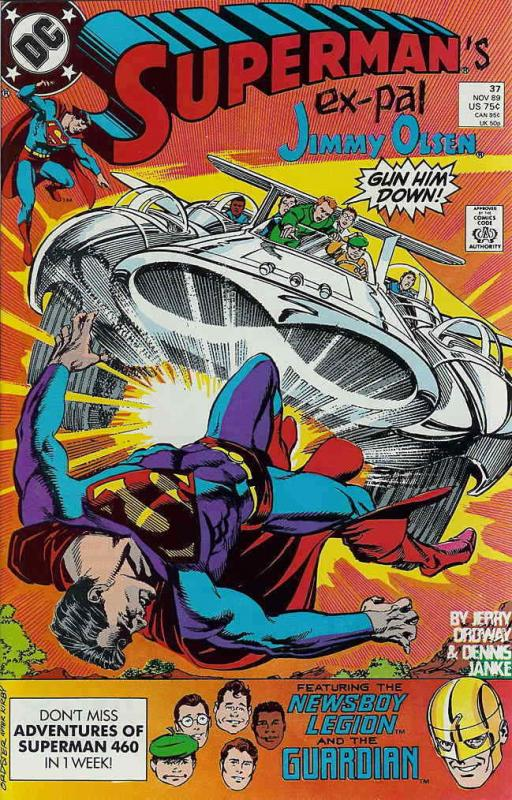 Superman (2nd Series) #37 VF/NM; DC | save on shipping - details inside