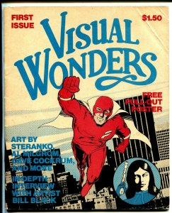 Visual Wonders #1 1978-1st issue-Steranko-Al Milgrom-Bill Black-Cochran-VG+