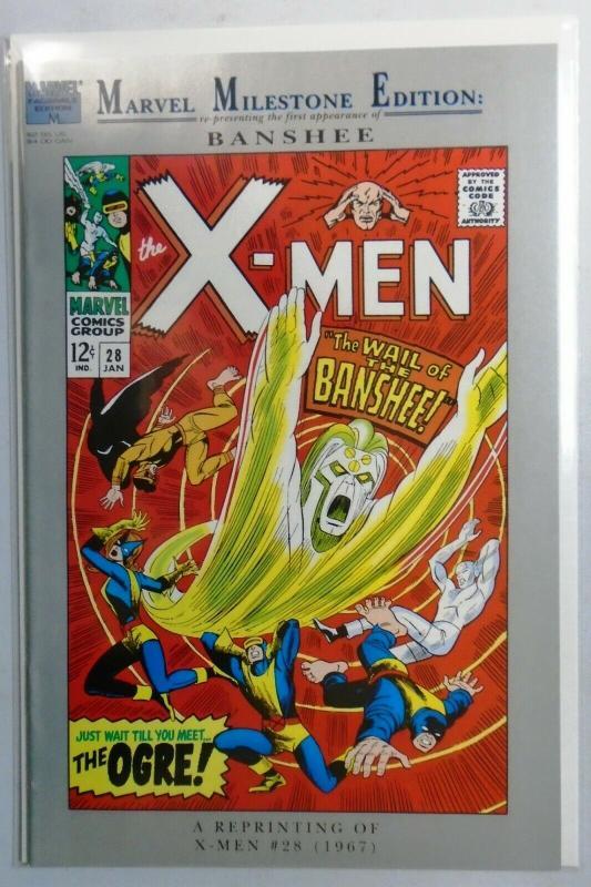 Marvel Milestone Edition X-Men #28, Reprints X-Men 28 (1st App Banshee) 8.0/VF