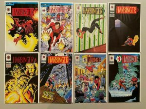 Harbinger lot 16 different from 2 series avg 8.0 VF (1992-2015 Valiant)