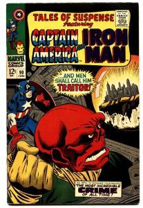 TALES OF SUSPENSE #90 comic book 1967-RED SKULL COVER-GIL KANE VF