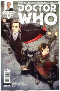 DOCTOR WHO #7 A, NM, 12th, Tardis, 2014, Titan, 1st, more DW in store, Sci-fi