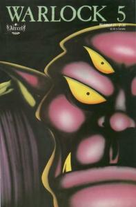 Warlock 5 (1986 series) #21, VF (Stock photo)