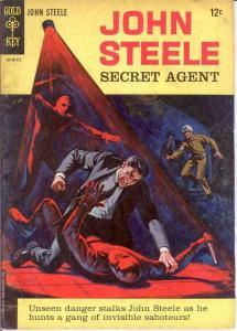 JOHN STEELE SECRET AGENT (1964 GK) 1 VG COMICS BOOK