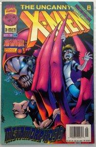 The Uncanny X-Men #336 NEWSSTAND (VF+)(1996)