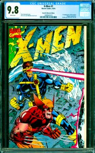X-Men #1 CGC Graded 9.8 1st appearance of the Acolytes. Magneto appearance.
