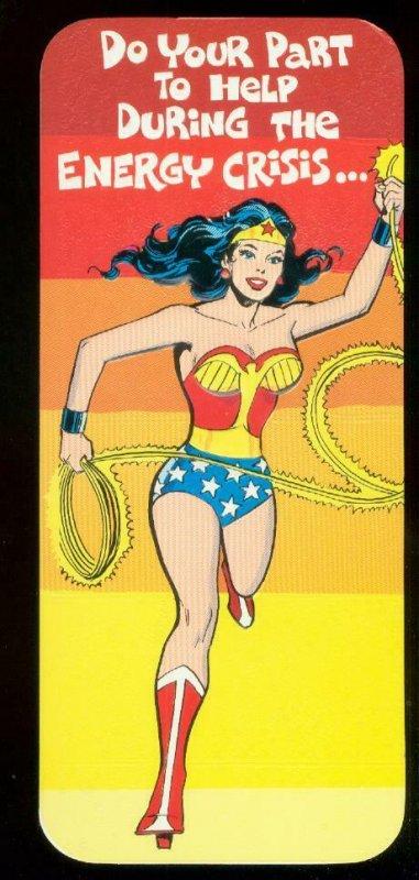 NEAL ADAMS WONDER WOMAN ROMANTIC CARD #35 1978 NM