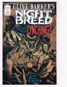 Clive Barkers Night Breed #19 VF/NM Epic Comics Comic Book Horror DE47 AD33