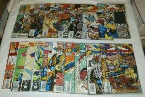 X-Factor V1 #60-107 (missing 6) + Annuals Peter David Stroman comics lot of 45