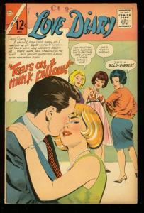 LOVE STORY #44 1966 CHARLTON COMICS ROMANCE GOLD DIGGER FN