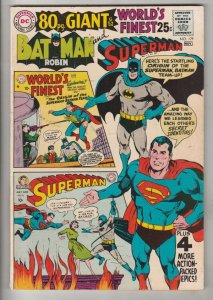 World's Finest #179 (Nov-68) VF/NM High-Grade Superman, Batman, Robin