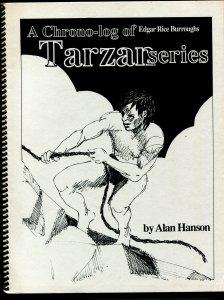 Chrono-log of Edgar Rice Burroughs Tarzan Series 1990-Alan Hanson-ERB-VF