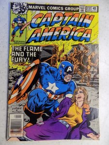 CAPTAIN AMERICA # 232 MARVEL FALCON WAR ADVENTURE