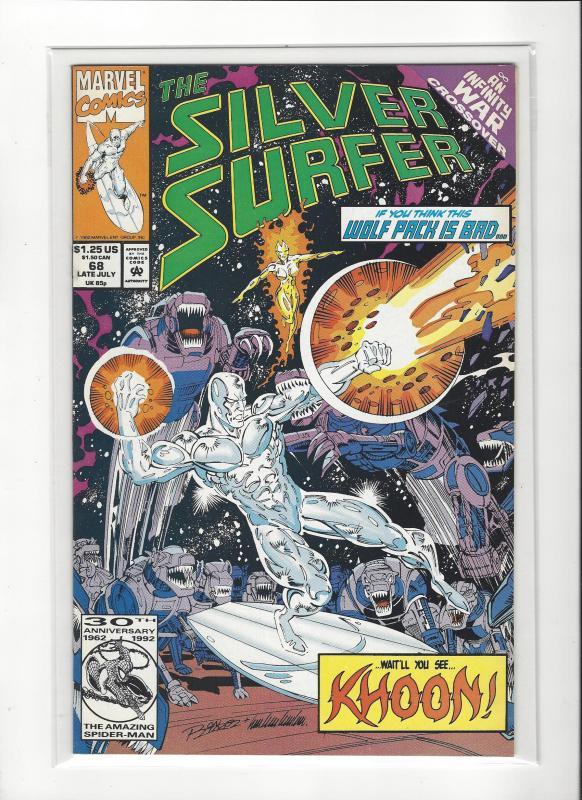 Silver Surfer #68 Marvel Comics Ron Lim NM