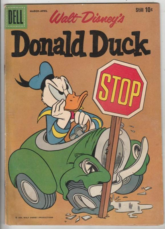 Donald Duck # 74 Strict GD- Uncle Scrooge McDuck, Goofy's nephew Gilbert