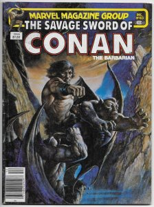 Savage Sword Of Conan Magazine #83 Red Sonja | Neal Adams (Marvel, 1982) VG/FN
