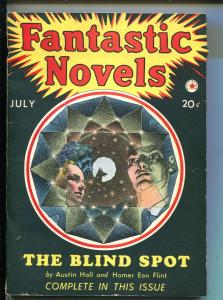 FANTASTIC NOVELS #1 07/1940-RED STAR-IST ISSUE-PULP MYSTERY THRILLS-vf