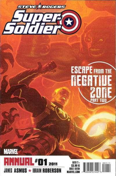 Steve Rogers: Super Soldier Annual #1, NM- (Stock photo)