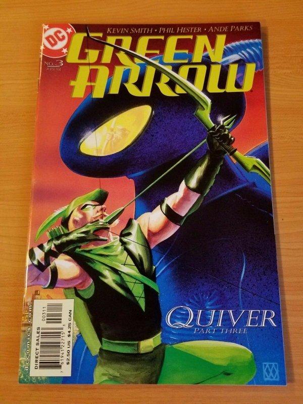 Green Arrow #3 ~ NEAR MINT NM ~ (2001, DC Comics)