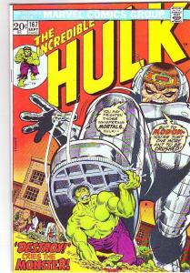 Incredible Hulk #167 (Sep-73) VF/NM High-Grade Hulk