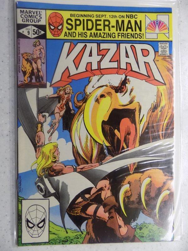 KAZAR THE SAVAGE # 9