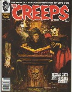 THE CREEPS #25 - FIRST PRINTING - COMIC HORROR MAGAZINE