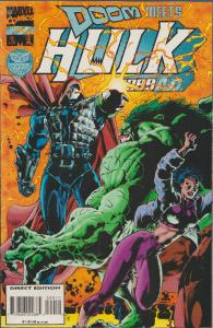 DOCTOR DOOM MEETS HULK 2099 #9 - GREAT ACTION COMIC! - BAGGED & BOARDED