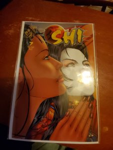 Shi: The Way of the Warrior #7 (1996) damaged