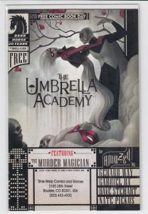 UMBRELLA ACADEMY Series 1 #1 2nd Print 2-6 First Print + FCBD with stamp VF-NM-