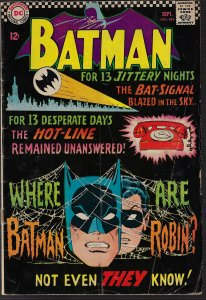 Batman #184 (DC, 1965) GD+