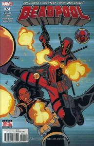 Deadpool (5th Series) #24 VF/NM; Marvel | save on shipping - details inside