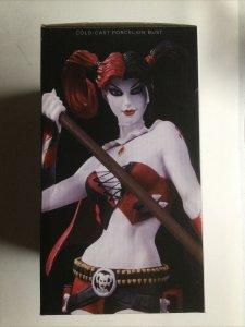 "Harley Quinn Bust 7"" Second Edition DC Comics Super-Villains with Box  Jim Lee"