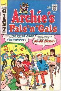 ARCHIES PALS & GALS (1952-    )41 VF August 1967 COMICS BOOK