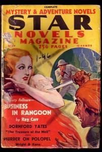 STAR NOVELS-RARE-MAY 1934-GIRL ON COVER G