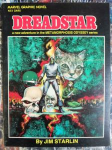 Dreadstar by Jim Starlin! Marvel Graphic Novel #3 First Print!  Metamorphosis!!