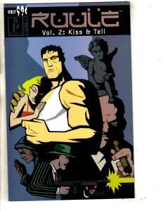 Lot Of 5 Ruule Becket Comic Books Kiss & Tell Vol. # 2 1 2 5 6 8 CA2
