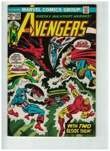 AVENGERS 111 VG-FN May 1973 COMICS BOOK