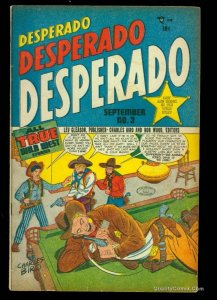 Desperado #3 FN 6.0 Golden Age Crime/Western!