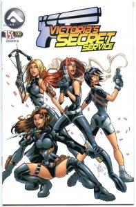 VICTORIA'S SECRET SERVICE #0, NM-, Good girl, Femme Fatale, 2005,more in store,B